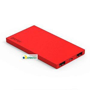 Carregador Portátil Vermelho 6.200 mAh PB200R - Geonav