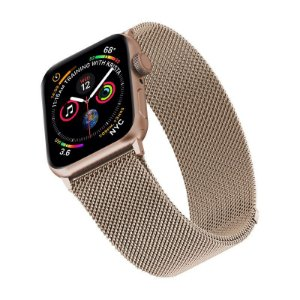 Pulseira para Apple Watch 38/40 Milanese Gold Dourada WBM40GD - Geonav