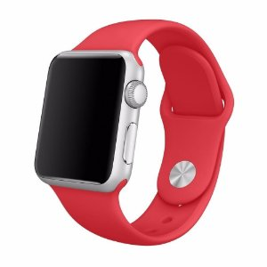 Pulseira para Apple Watch 42/44 Silicone Red AW4244RD - iMax