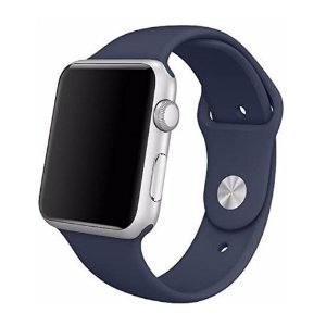Pulseira para Apple Watch 42/44 Silicone Blue AW4244BL - iMax