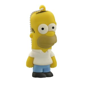 Pen Drive Simpsons Homer 8GB PD070 - Multilaser
