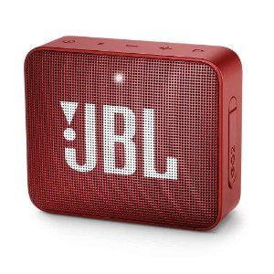 Caixa de Som GO 2 Portátil Bluetooth/P2 Red 3W Rms (Harman do Brasil) - JBL