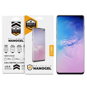 Película Nano Gel Dupla para Samsung Galaxy S10 Plus - Gshield