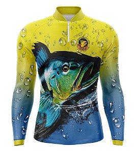 Camiseta Pesca Masculina - Modelo