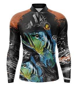 Camiseta de Pesca Tucunaré - 002