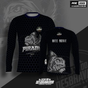 Camiseta de Pesca P01 - Piranha