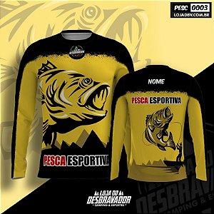 Camiseta de Pesca - Pesca Esportiva 0003