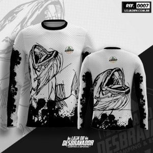 Camiseta de Pesca P07 - Peixe Branco