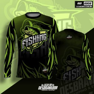 Camiseta de Pesca P08 - Fishing
