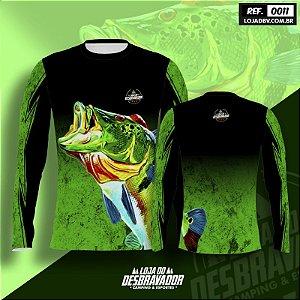 Camiseta de Pesca P11 - Tucunaré Verde