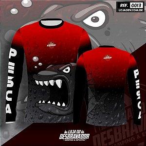 Camiseta de Pesca P13 - Piranha Nervosa