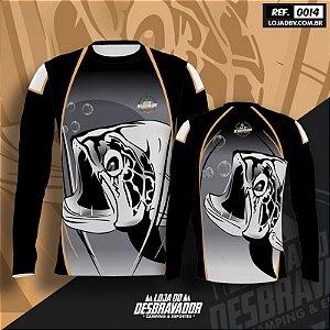 Camiseta de Pesca P14 - Peixe Negro