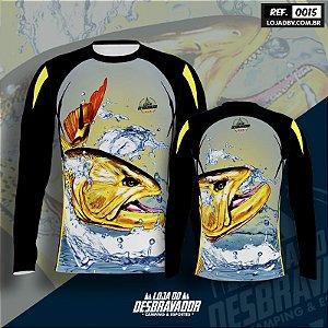 Camiseta de Pesca P15 - Dourado