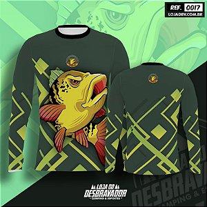 Camiseta de Pesca P17 - Peixe Amarelo