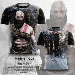 Camiseta Gamer - God of War 0005