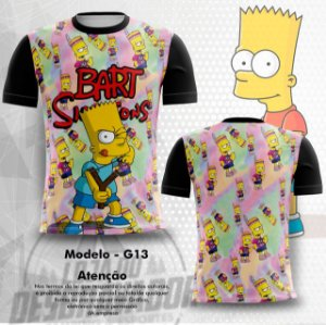 Camiseta Gamer -  Os Simpsons 0013