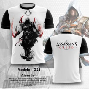 Camiseta Gamer - assassin's creed 0021