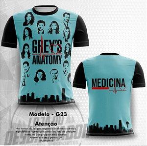 Camiseta Gamer - grey's anatomy 0023