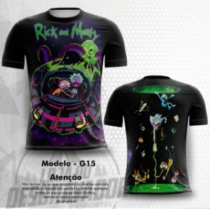 Camiseta Gamer - Rick and Morty 0015