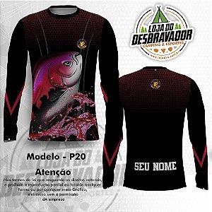 Camiseta de Pesca P20 - Tambaqui