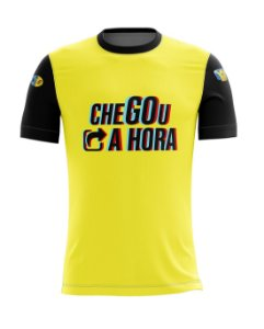 Camiseta Chegou a Hora - Yellow