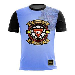Camiseta Desbravador de Ferro - Azul