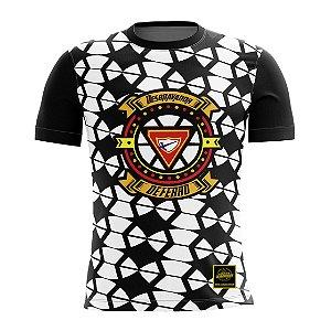 Camiseta Desbravador de Ferro - Branca e Preta
