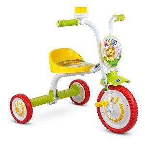 Triciclo Infantil Unissex Velocípede Motoquinha Com Buzina