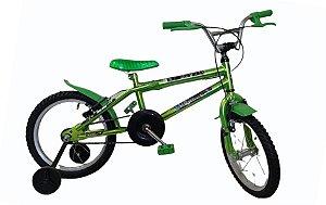 Bicicleta Infantil Aro 16 Cross Com Freios V. Brake