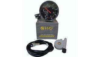 Velocímetro Analógico Com Odômetro 60 KM WG Ponteiro Retro.