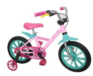 Bicicleta Aro 14 Nathor Feminina Aluminio