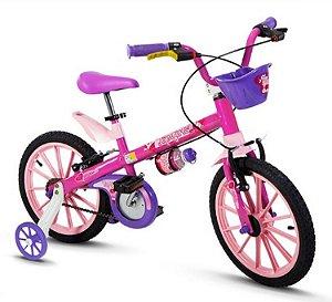 Bicicleta Aro 16 Nathor Top Girls