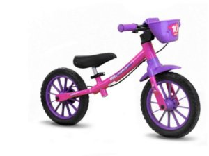 Bicicleta Balance Aro 12 Feminina