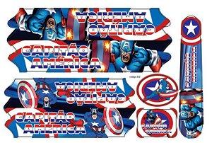 Adesivo Capitão América