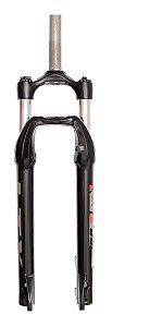 Garfo Suspensão 29 Rc3 Preta Com Regulagem Para Bicicletas