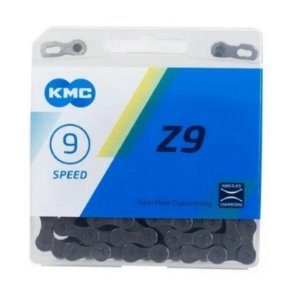 Corrente Kmc Z9 Index 9 velocidades 116 Elos Mtb Importada