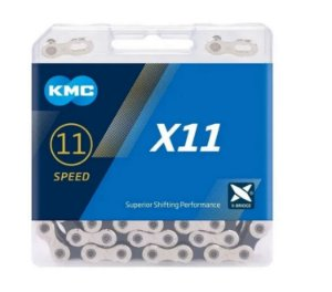 Corrente 11 Velocidades Kmc X11 Ti-n 118 Elos MTB