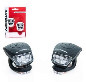 Sinalizador Bike Led Duplo Lanterninha Pisca Alerta Absolute