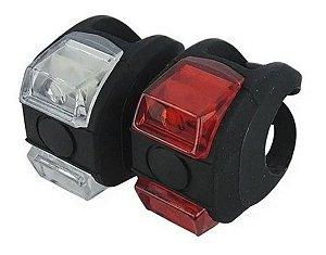 Pisca Sinalizador Lanterna Forte Led Pr Absolute  Bicicletas