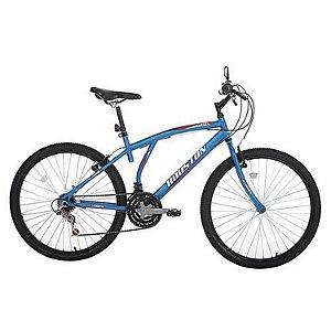 Bicicleta Aro 26 Atlantis Azul Copa 21 Velocidades Houston