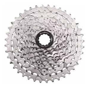Cassete Catraca Sunrace M980 9v 11x40 Prata Para Bicicletas