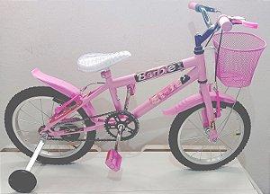 Bicicleta Aro 16 Wend Rosa