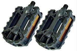 Atacado Com 10 Pedal Rosca  Grossa 9/16 Nylon Metalciclo