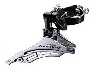 Câmbio Dianteiro Shimano Tourney D.swing Ty300 31.8mm 7v 8v