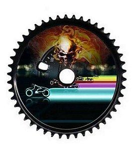 Coroa Cross Bmx 46 Dentes Cores Para Bicicletas