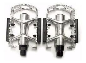 Pedal Bicicletas Moutain Bike Aluminio Rosca Grossa 9/16
