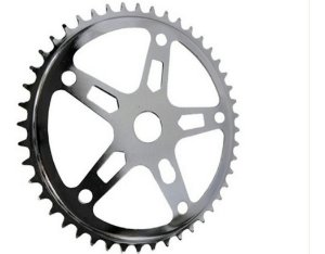 Engrenagem Coroa Roda Dentada 46 Dentes Para Bicicletas