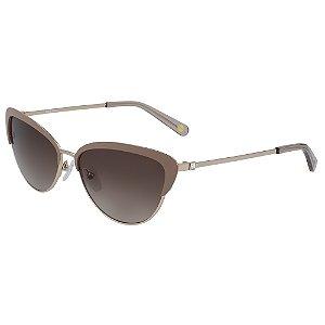 Óculos de Sol Nine West NW128S 205 - 56 - Marrom