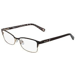 Armação de Óculos Nine West NW1087 210 - 52 - Marrom