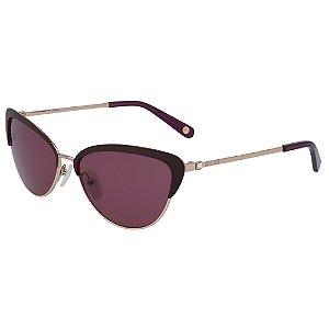 Óculos de Sol Nine West NW128S 515 - 56 - Vermelho